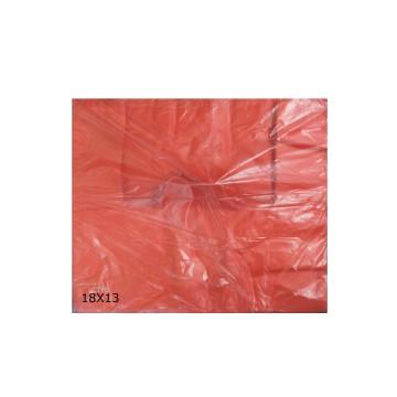 RED PLASTIC BAG - LARGE (13