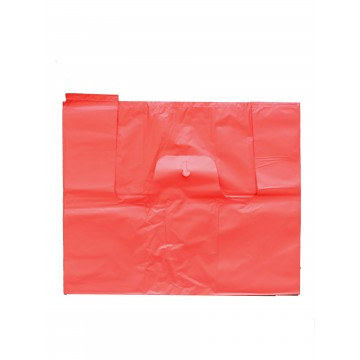 RED PLASTIC BAG - EXTRA LARGE (18.5