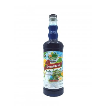 BLUE HAWAI SQUASH (755ML)