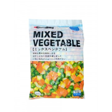 FROZEN MIXED VEGETABLES (1KG)