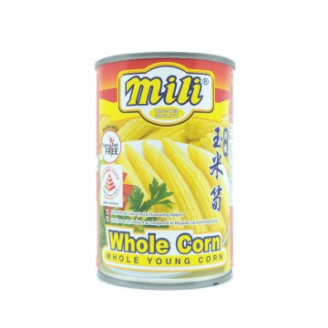YOUNG CORN - WHOLE (400GM)